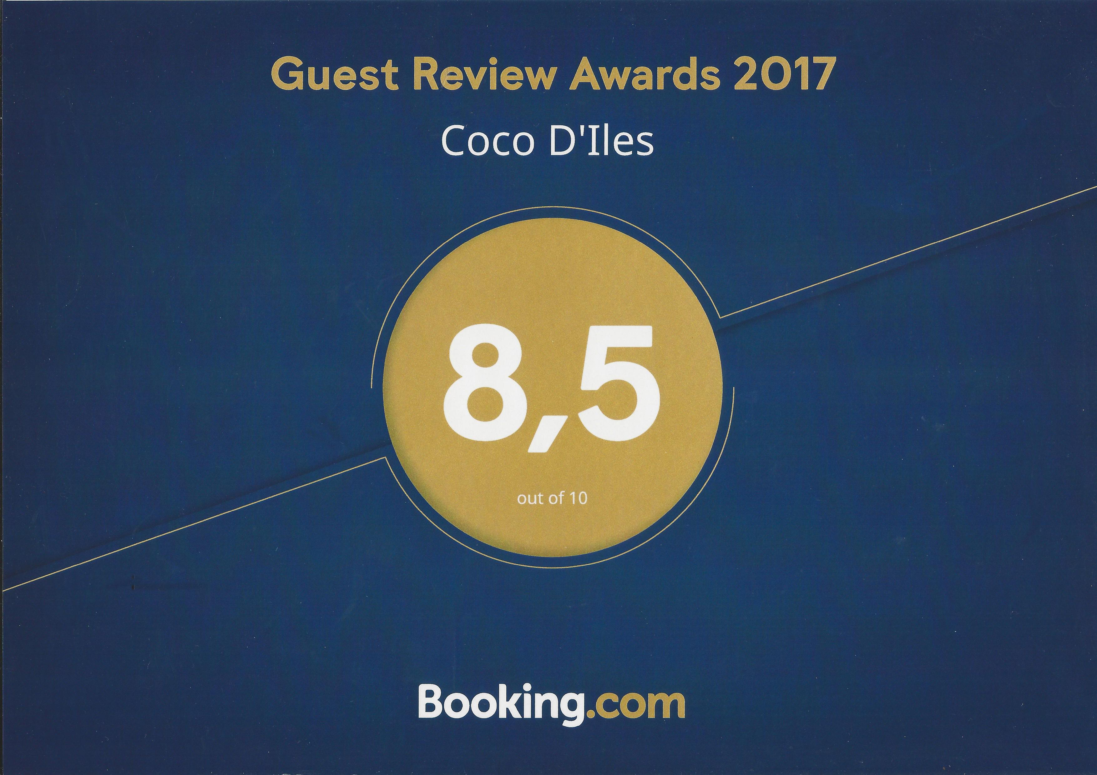 Booking Awards - - Résidence Coco d'Iles - Les Saintes