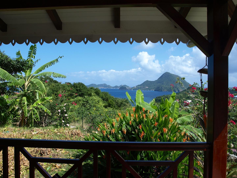 Vue terrasse - Villa Coco à l'Eau - Résidence Coco d'Iles - Les Saintes