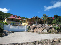 Entrée de la résidence - Villa Coco Fesse - Résidence Coco d'Iles - Les Saintes