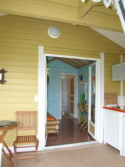 Chambre / Cuisine -  Ti Bambou - Résidence Coco d'Iles - Les Saintes