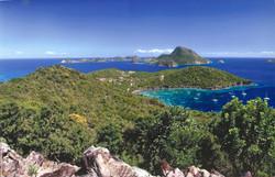 Vue sur la baie et Terre de haut - Résidence Coco d'Iles -  Les Saintes
