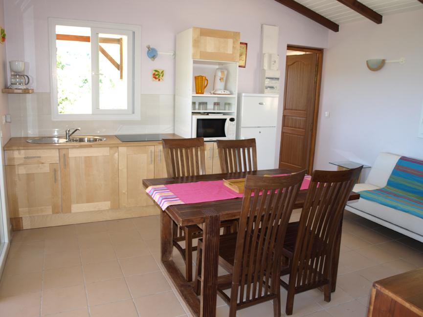 Cuisine - Villa Coco à l'Eau - Résidence Coco d'Iles - Les Saintes