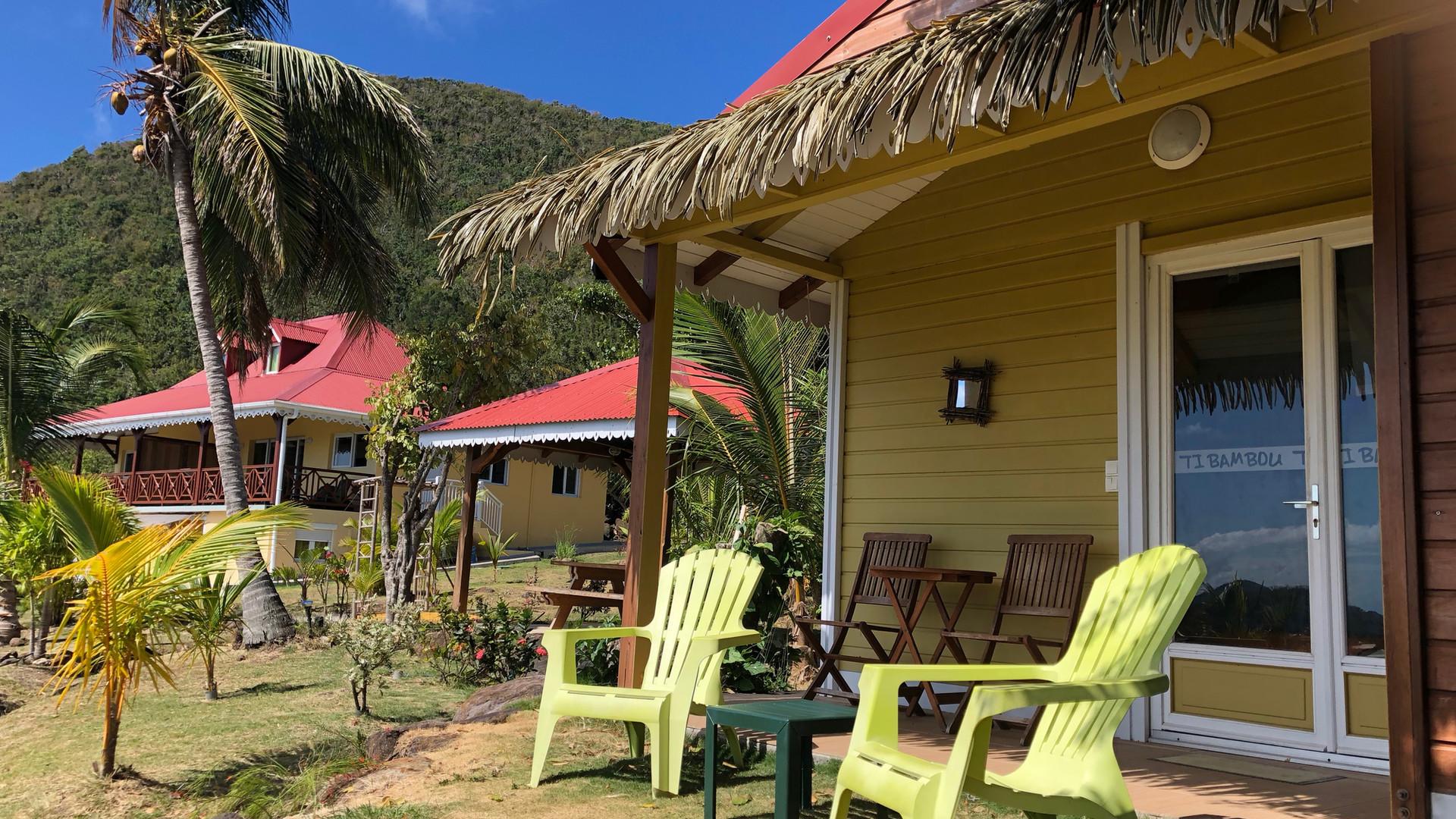 Villas de la Résidence Coco d'Iles -  Les Saintes