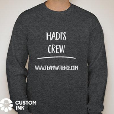 Gray Hadi's Crew Long Sleeve Shirt