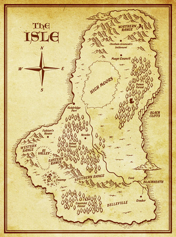 The Isle Map
