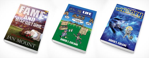 Book cover art - paperback mockup