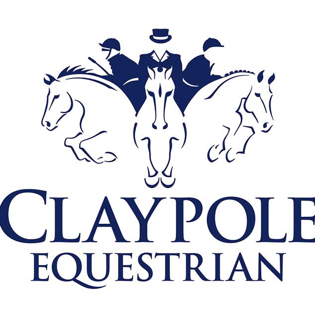 Claypole Equestrian logo design