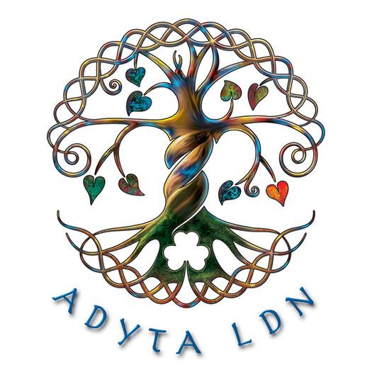 Adyta Ldn logo illustration