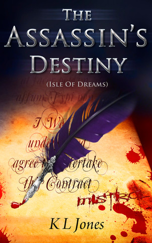 The Assassin's Destiny - book cover art