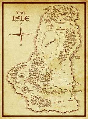 The Isle Map complete.
