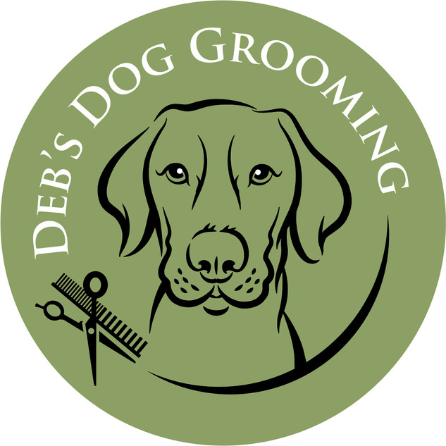 Deb's Dog Grooming logo design