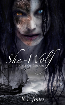 She-Wolf - book cover art