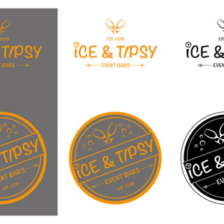 Ice & Tipsy logo design