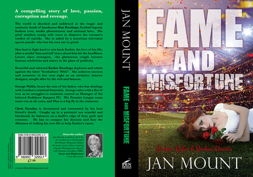 Fame and Misfortune - book cover art