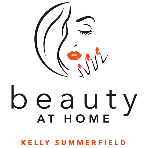Beauty at Home logo design