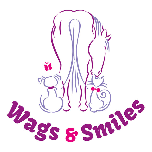 Wags & Smiles logo design