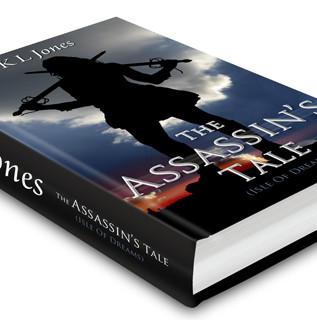 The Assassin's Tale cover art for author KLJones
