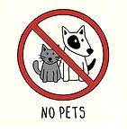 vector-no-pets-symbol-sign-doodle-hand-i