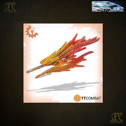 Shaltari Hematite/Goethite Battlecruiser