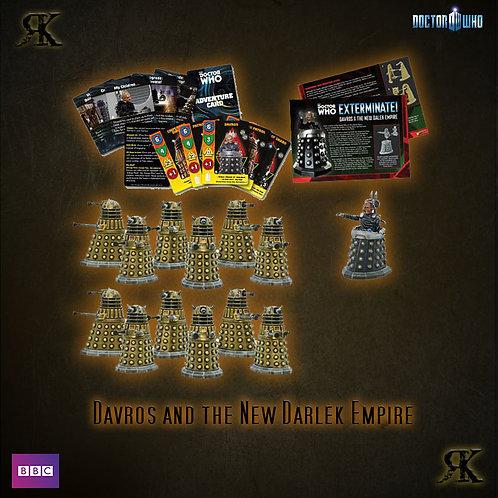 Davros and the New Dalek Empire