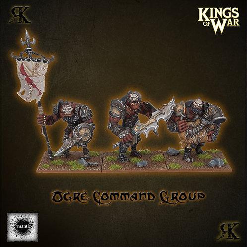 Ogre Warriors Command Pack