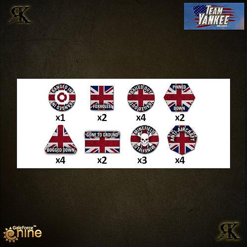WW3 British Token Set