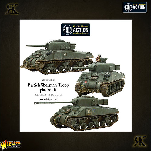 British Sherman V Troop including Vc Firefly