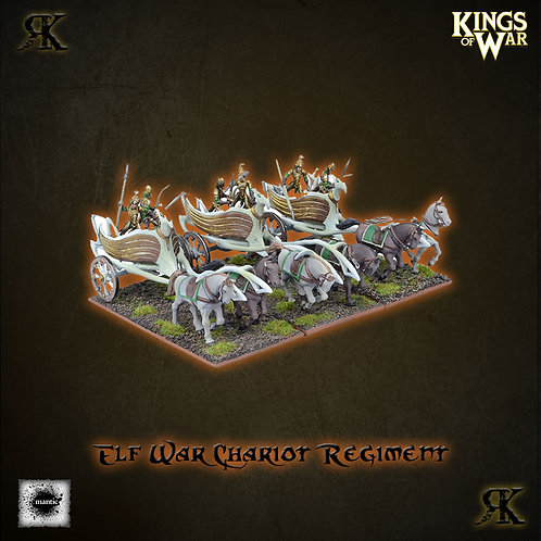 Elf War Chariot Regiment