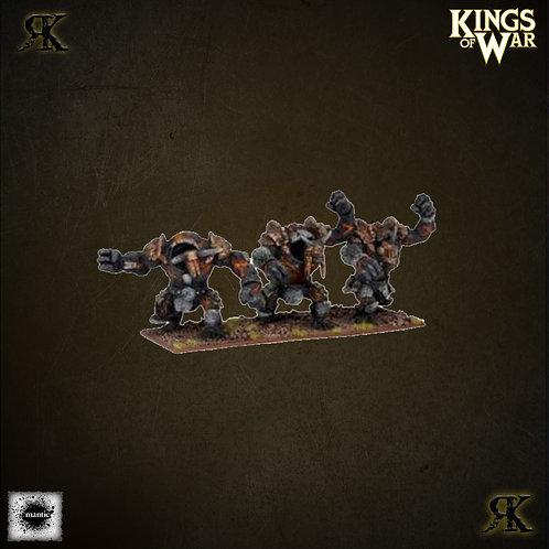 Lesser Obsidian Golem Regiment
