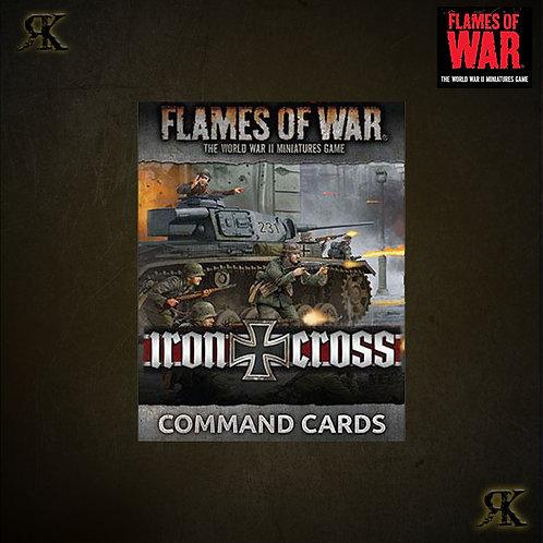 Iron Cross Command Cards