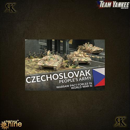 Czechoslovak peoples army