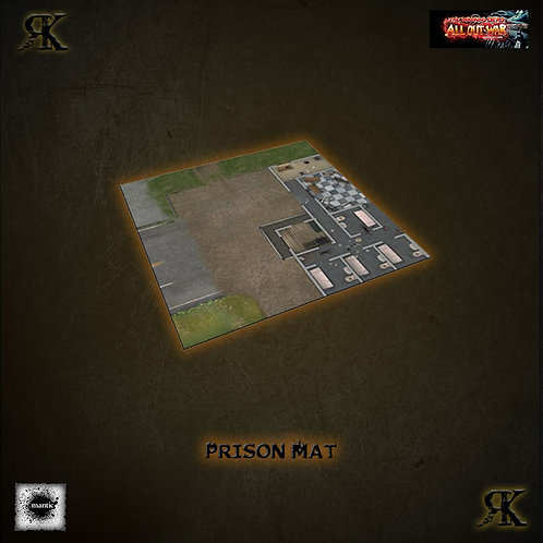 Deluxe Gaming Mat - Prison Grounds