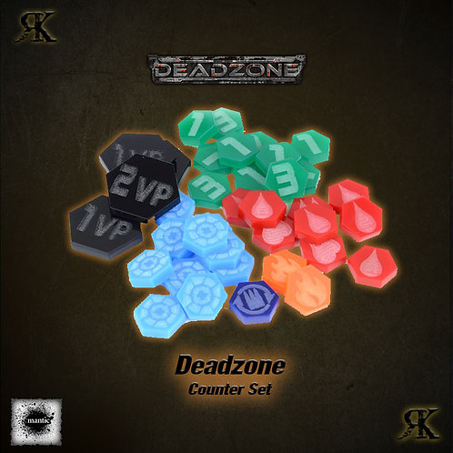 Deadzone 2nd Edition Counter Set