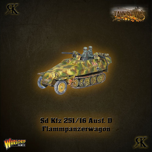 SD.KFZ 251/16 Ausf D Flammpanzerwagen