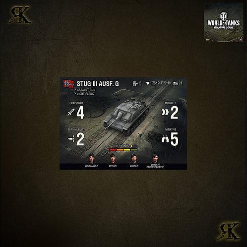 WOT Stug III Ausf G Expansion