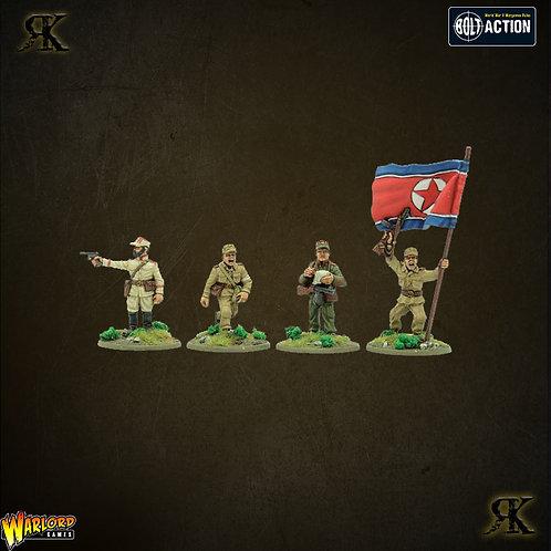 Korean War: North Korean KPA HQ