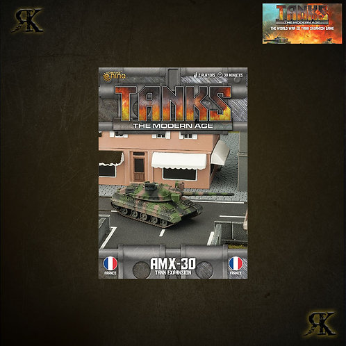 French AMX30/155mm SP Tank Expansion