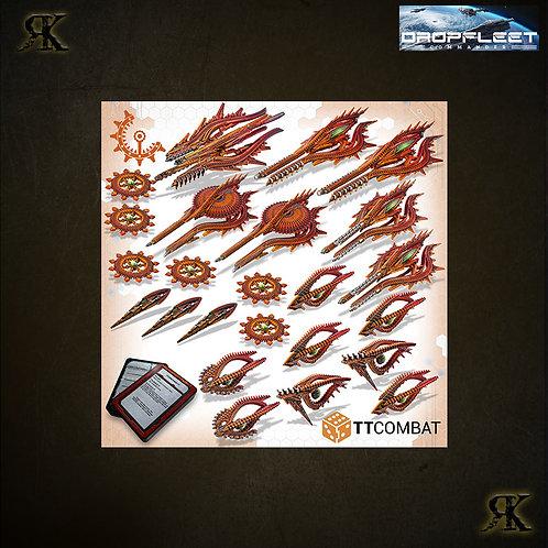 Shaltari Battlefleet