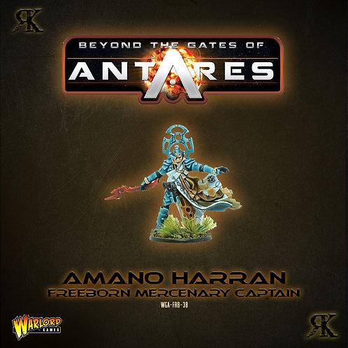 Amano Harran Freeborn Mercenary Captain