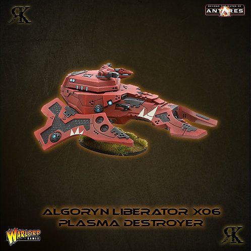 Algoryn Liberator with Plasma Destroyer