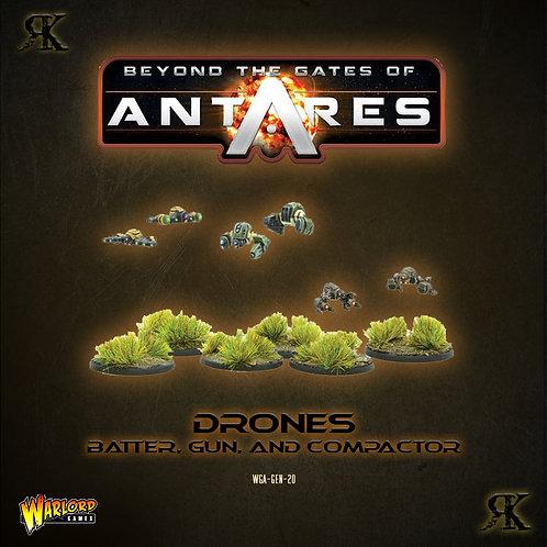 Drones: Batter, Gun, and Compactor
