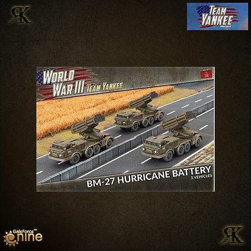 BM-27 Hurricane Battery