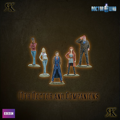 10th Doctor and Companions