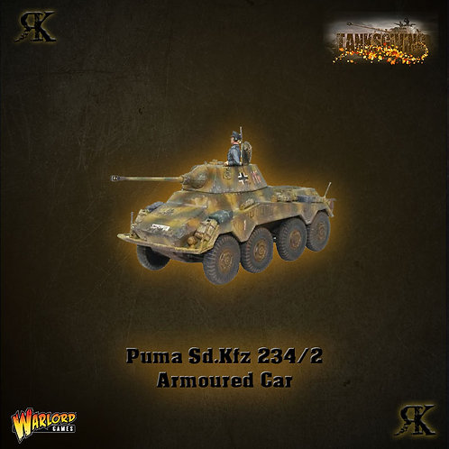 Puma, SD.KFZ 234/2 Armoured Car