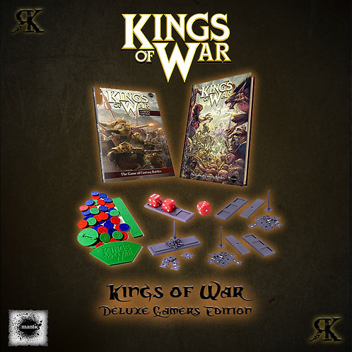 Kings of War 2nd edition Deluxe Gamers Edition