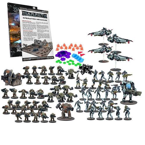 Warpath Operation Heracles: Two Player Mega Battle Set