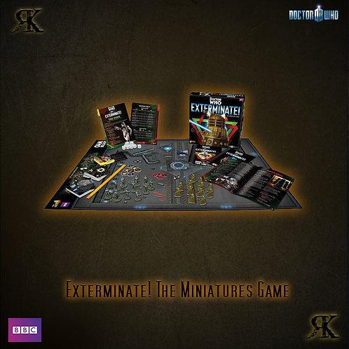 Exterminate! -The Dr Who Miniatures Game Starter Set