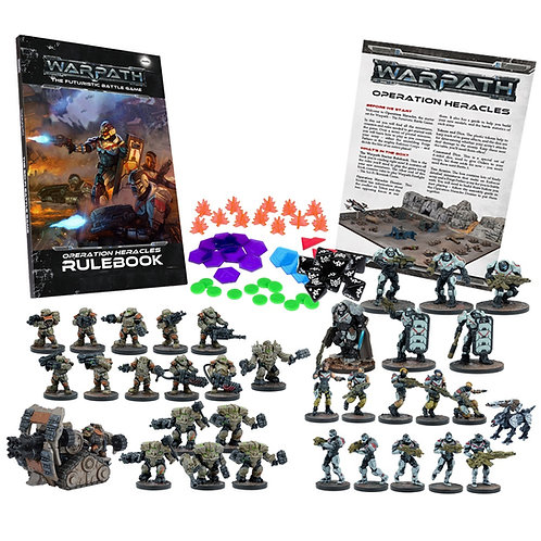 Warpath Operation Heracles Two Player Battle Set