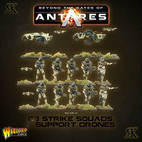 Concord Strike Squad and Support Drones