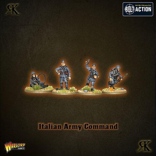 Italian Army Command